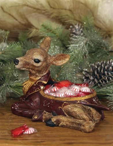 Fawn Candy Dish from Victorian Trading Co.