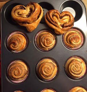 Pullapäivä Mantelimaitopulla / cinnamon buns with almond milk