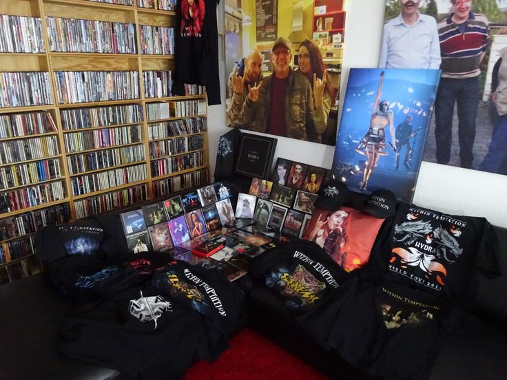 Flemming - Most of my Within Temptation collection.