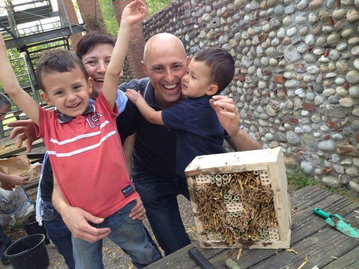 Costruiamo una casetta per gli insetti utili al giardino
