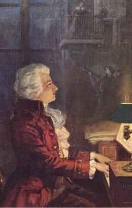 the life of the genius musician wolfgang amadeus mozart Wolfgang amadeus mozart   like all the really great composers, mozart was a  stupendously hard worker,  calm to a station that normally has to reflect the  busy plurality of cultural life, which now and again is a good thing.