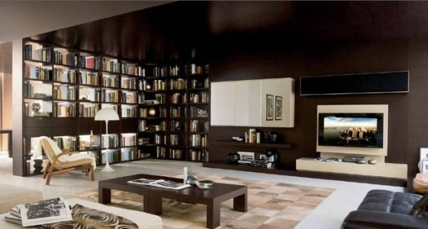 20 Astounding Ideas On How To Place A TV In The Living Room. : Inside Outside Magazine