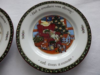 Portmeirion Studio Christmas Story Set 4 Mini Plates 4 7/8  Discontinued Pattern & 81 best A Christmas story images on Pinterest | A christmas story ...