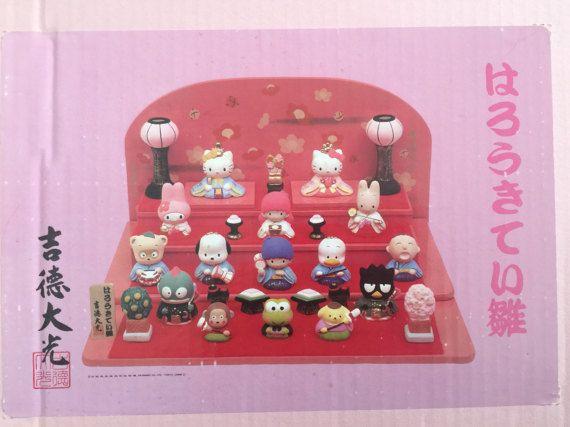 Super rare Hello Kitty hina doll set hinamatsuri girls day