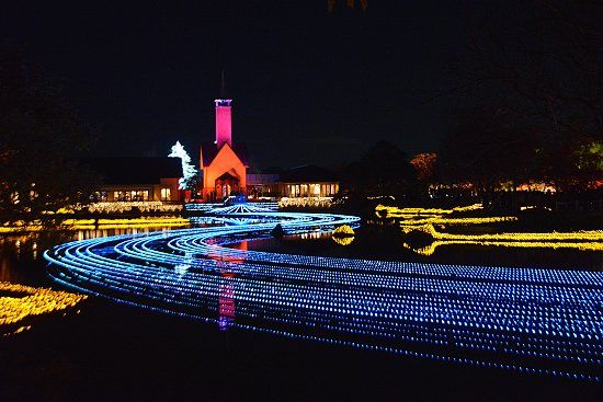 Nagano_Nabana no Sato Winter Illumination