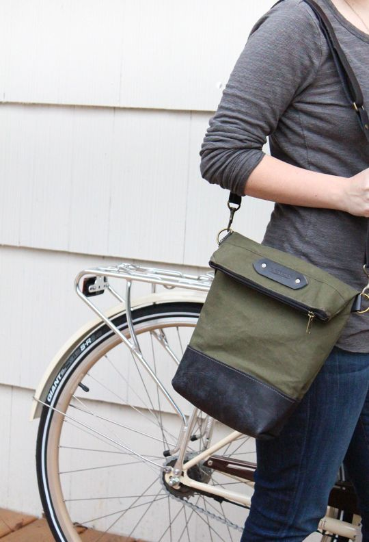 R. Riveter, handmade bags by military spouses for the cause...and cute to boot