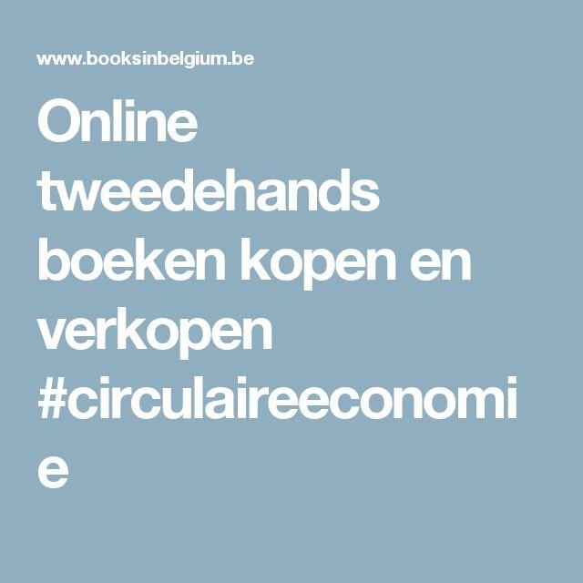 Online tweedehands boeken kopen en verkopen #circulaireeconomie