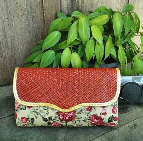Gepenik Flower Shabby Chic Pandan Clutch Multidesign Evening Handbag Woman Purse | eBay
