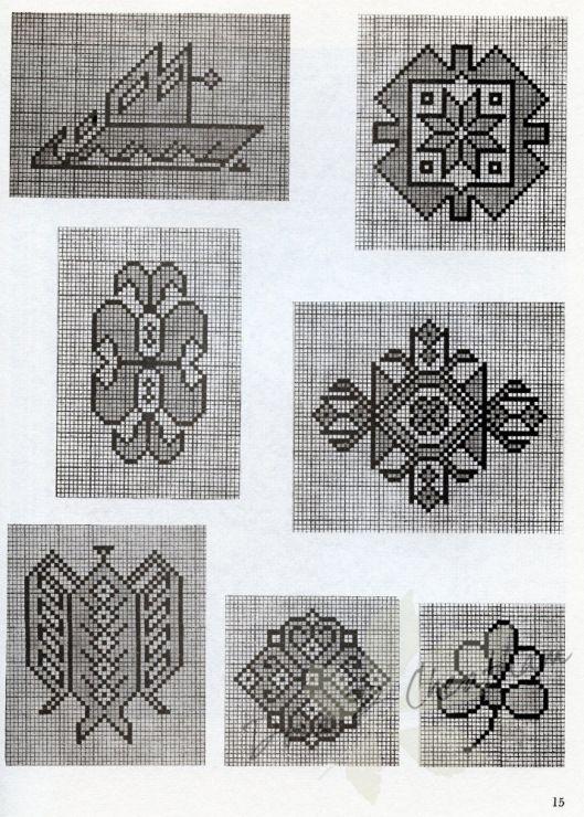 Gallery.ru / Фото #14 - Persian Rug Motifs for Needlepoint - Dora2012