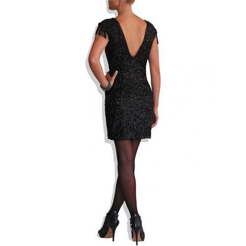 Black Sequin Dress on TROVEA.COM