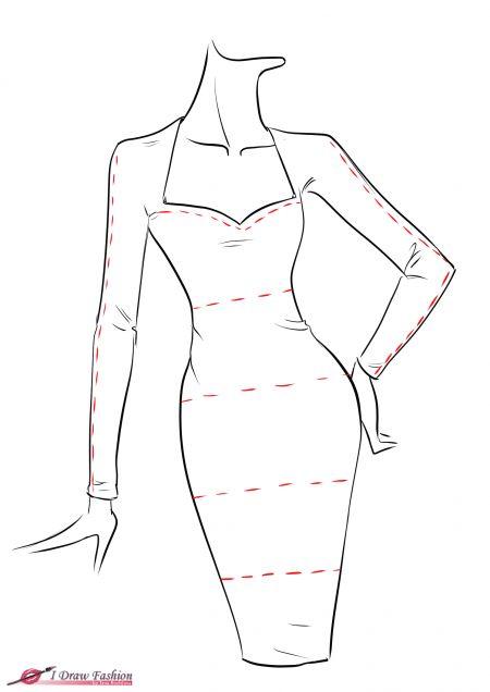 25+ beautiful Dress drawing ideas on Pinterest