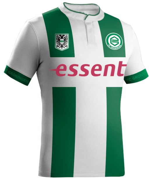 These are the new Groningen shirts 16/17, Dutch club FC Groningen's new home and away jerseys for the upcoming Eredivisie season. Made by Robey Sportswear, and chosen in an online poll by the…