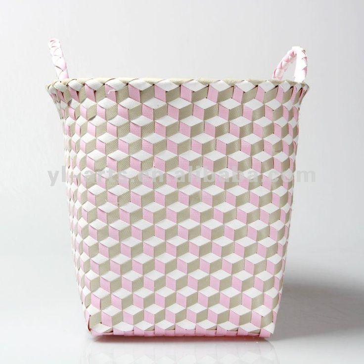 Handmade Pp Woven Plastic Basket   Buy Pp Woven Plastic Basket,Recycled Plastic  Woven Basket,Plastic Basket Product On Alibaba.com. Plastic BasketsStorage  ...