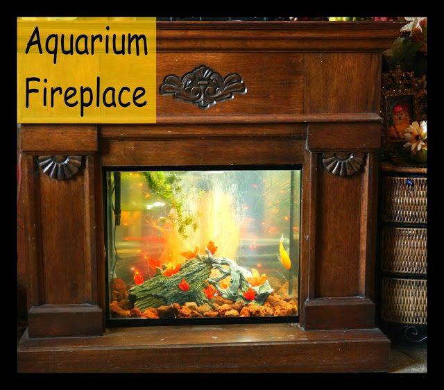 Suzy Homefaker Aquarium Fireplace In 2019 Aquarium