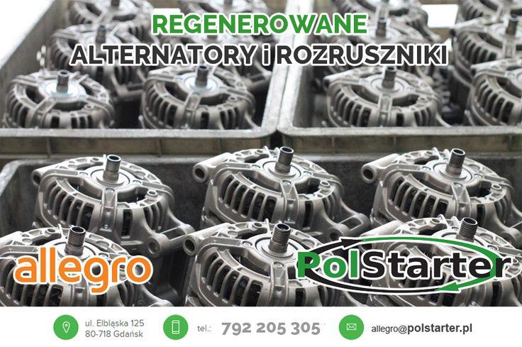 """👍 Dzięki odznaczeniu """"Super Sprzedawca"""" od dziś, kupując na niektórych naszych aukcjach, otrzymacie również bonusowe monety, które możecie wymienić na kupony rabatowe na przyszłe zakupy. 💰 Produkty oznaczone monetami znajdziecie wśród oferowanych przez nas produktów: http://allegro.pl/uzytkownik/polstarter_gd?order=m #alternatory #rozrusznikisamochodowe #mechanikapojazdowa"""