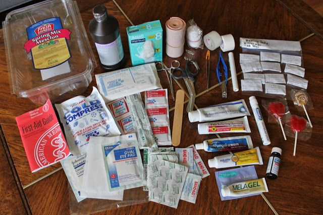 A Nurse's First-Aid Kit: What to include to improve your simple first-aid kit.
