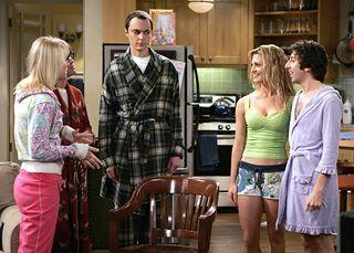 "Brooke D'Orsay Big Bang Theory | The Big Bang Theory"" und das Vorspeisen-Dilemma vor ""Mein cooler ..."