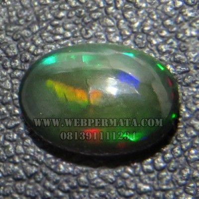 batu black opal kalimaya