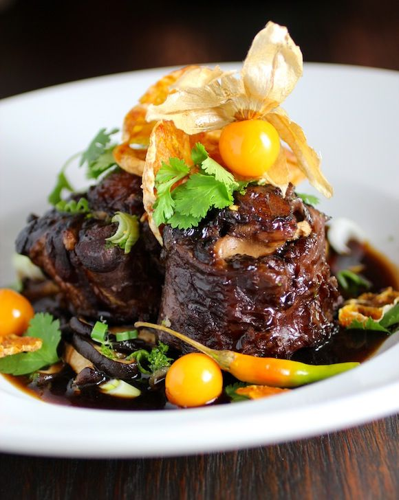 Braised Oxtail for Halloween? • Taste With The Eyes • where the image is meant to titillate and inspire the cook