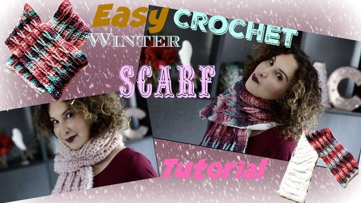 657 Best Crotchet Scarves Fr Youtube Images On Pinterest
