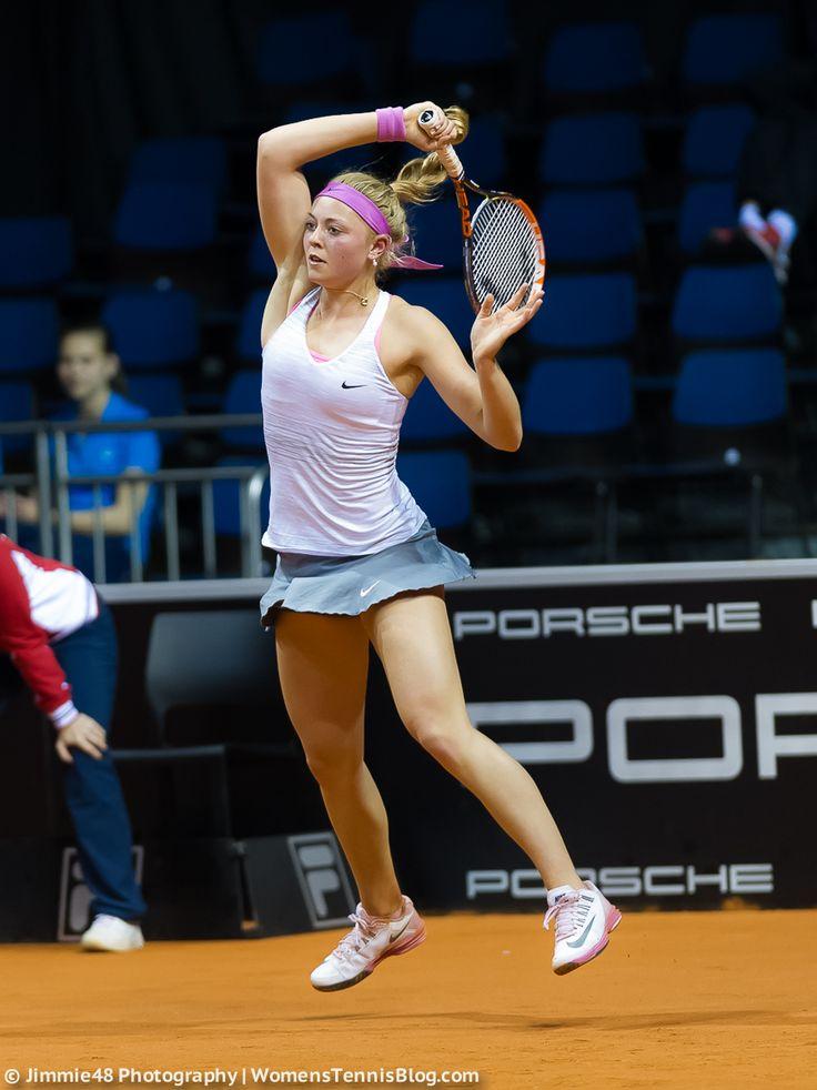Carina Witthöft | 2014 Porsche Tennis Grand Prix WTA Premier | Flickr - Photo Sharing!