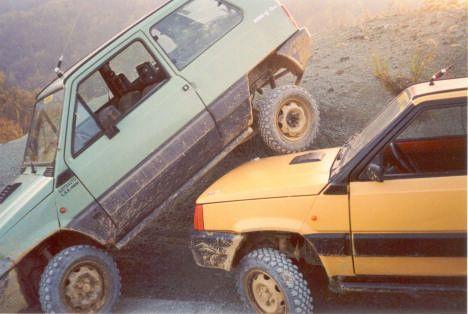 Fiat Panda's (4x4)