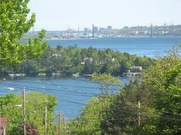Bedford NS - overlooking the Bedford Basin towards the McKay Bridge -Remax Nova Halifax Real Estate