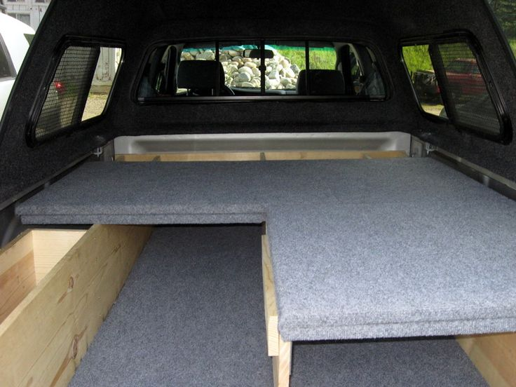 Truck bed sleeping platform van pinterest platform ford ranger and trucks - Truck bed storage ideas ...