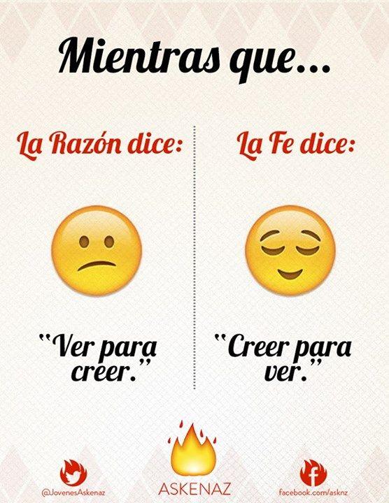 Askenaz (página oficial)  Razón vs. Fe #EmotiConsagrados