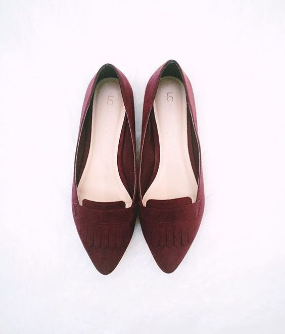 LC Lauren Conrad Pointed Toe Loafers available at Kohl's