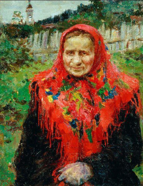 Деревенская женщина   1949 год  Холст, масло. 50×41