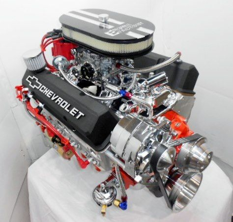 Chevy 383 Stroker Turn Key Muscle Car Engine