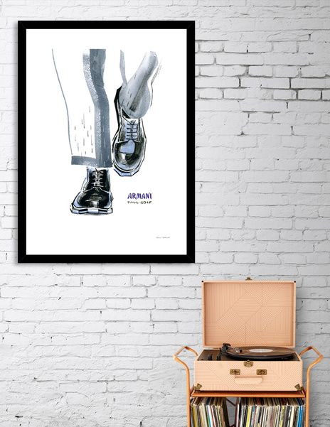 Discover «A fashionable men's shoes», Numbered Edition Fine Art Print by Irina Ivanova - From $19 - Curioos