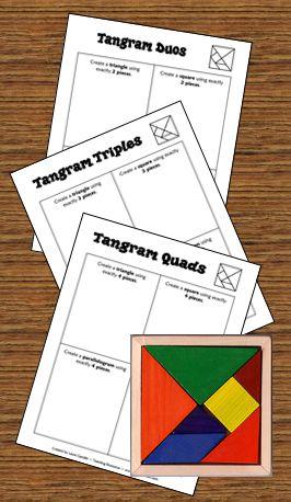 Tangram freebie in Laura Candler's online file cabinet