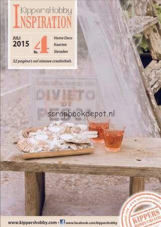 Scrapbookdepot - Inspiration magazine Nr. 4 juli 2015