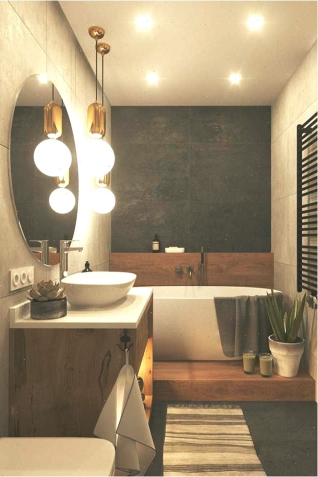 Gelbes Licht Im Spa Bad Badezimmer Ohne Fenster Badezimmer