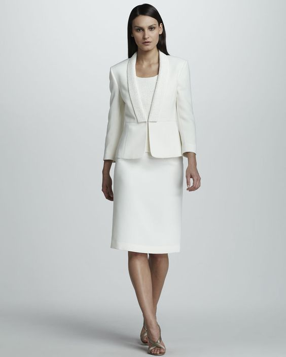 Tahari Suits Lord and Taylor satin pants suits | tahari suit with sequined lapels tahari from neiman marcus sale price ...