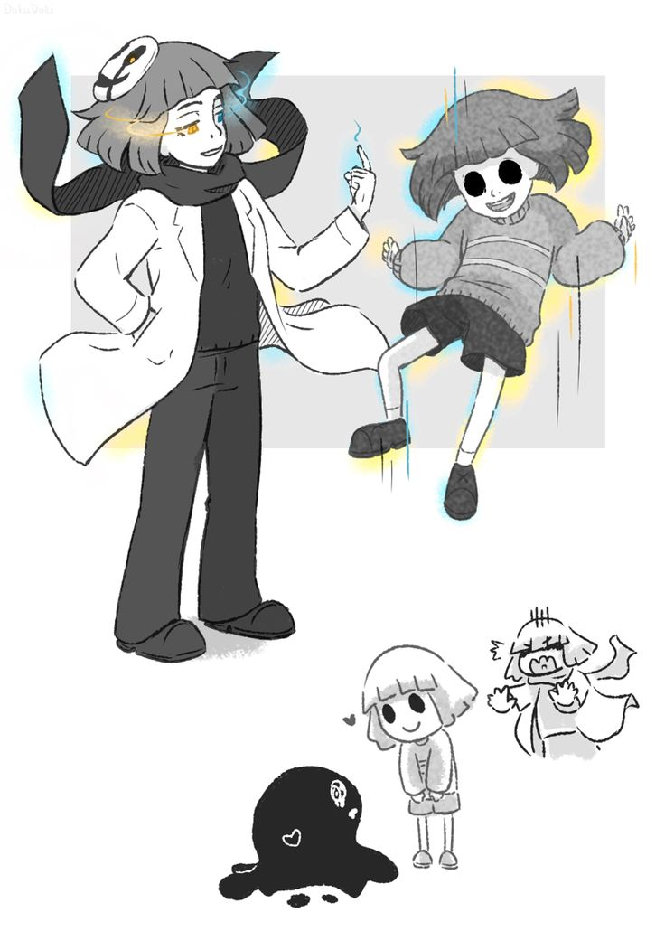 Core Frisk and Goopytale... *cough* Frisk.
