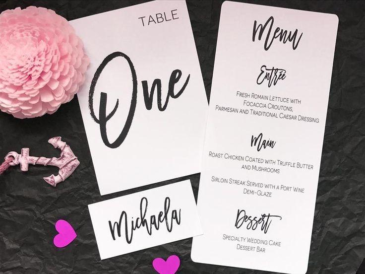 Wedding+Name+Placecards+Wedding+Table+Numbers+Wedding+Menus+Seating+cards