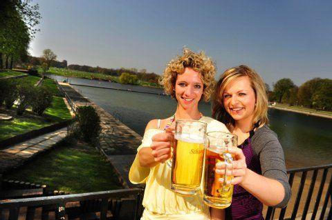 Kühles Blondes gefällig?: Hamburgs schönste Biergärten | Essen & Trinken- Hamburger Morgenpost