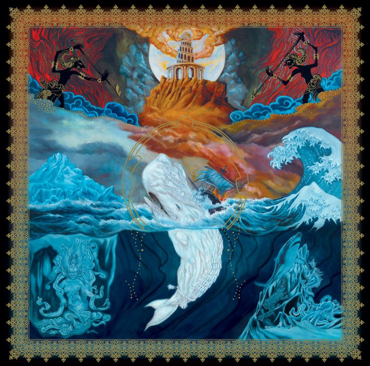 """my personal favorite """"Leviathan"""" by Paul Romano -- it's also from the album """"Leviathan"""" by Mastodon"""