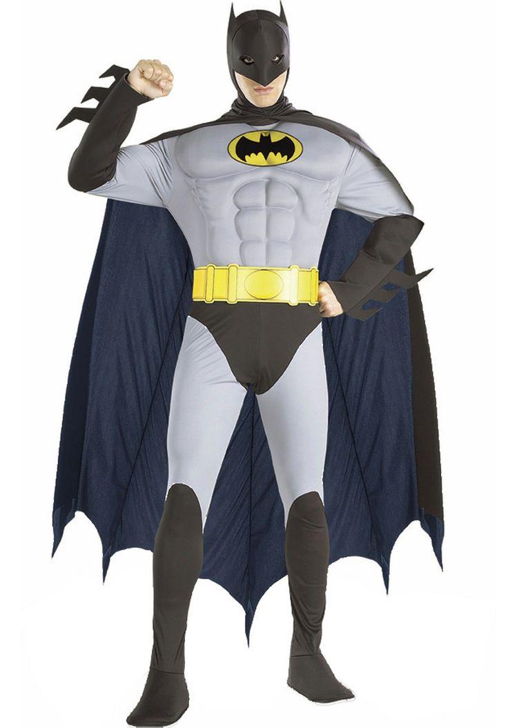 Batman Fancy Dress, Original Batman Costume - Superhero Costumes at Escapade