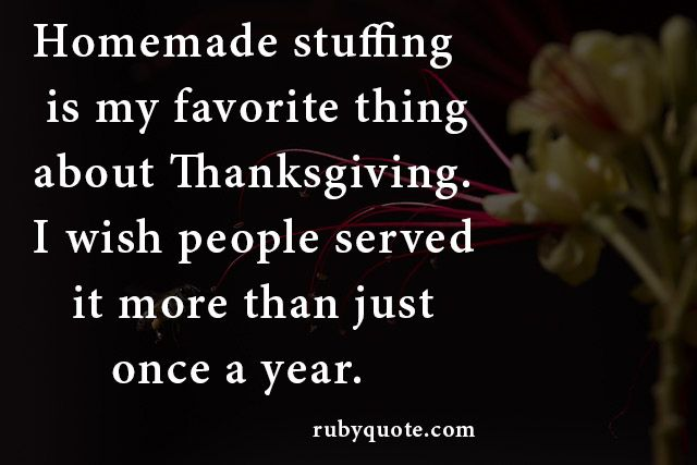 Homemade stuffing is my favorite thing about Thanksgiving. I wish people served it more than just once a year.