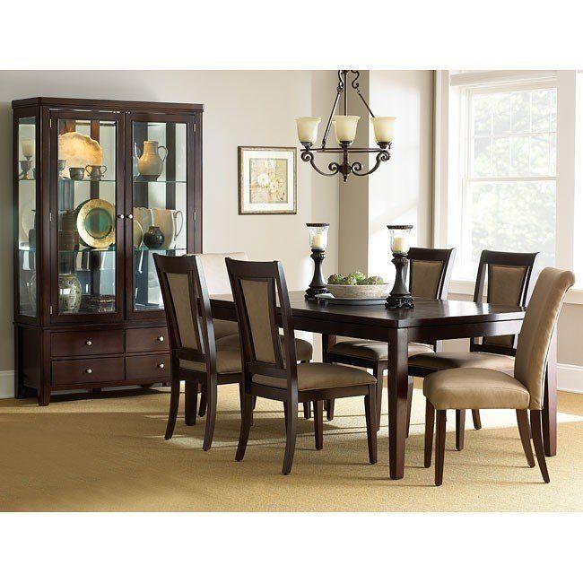 Wilson Dining Room Set Steve Silver Furniture   Furniture Cart