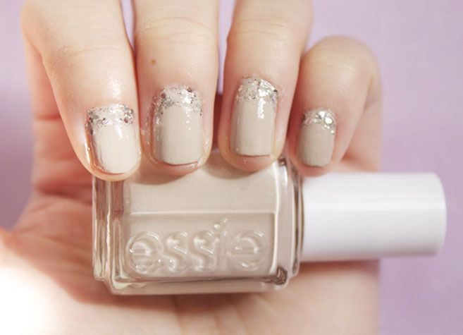 Wedding Nail Art You Can Do At Home: Wedding Ideas, Weddings, Makeup, Wedding Nails Art, Manicures, Reverse Manicure, Art Nails, Nail Art