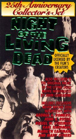 Night of the Living Dead 25th Anniv. [VHS] @ niftywarehouse.com #NiftyWarehouse #NightOfTheLivingDead #Zombies #Horror #HorrorMovies #Movies #Zombie
