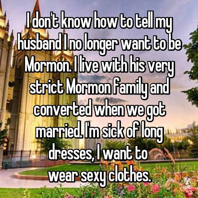 20 Secret Confessions From Mormon Married Couples
