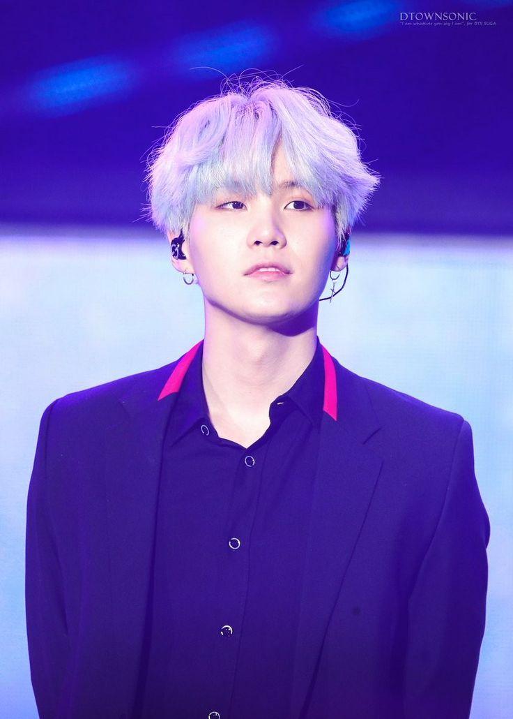 Min Yoongi Bts Suga Blue Hair Boy With White Stupid Boys Mood Boards Sugar Daddy Searching
