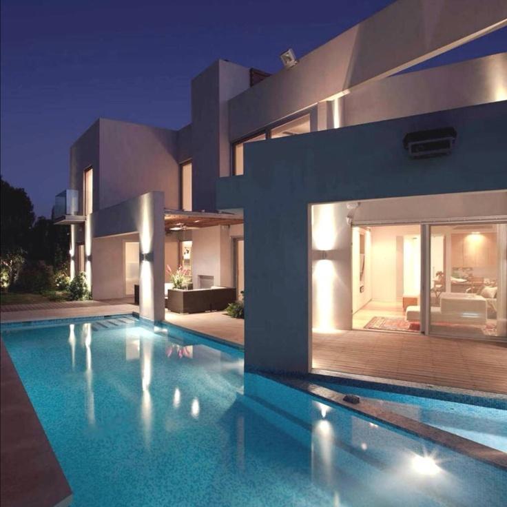 Modern # contemporary # gorgeous irregular shape pool ...