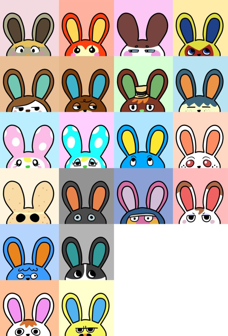 Animal Crossing Rabbit And Artists On Pinterest